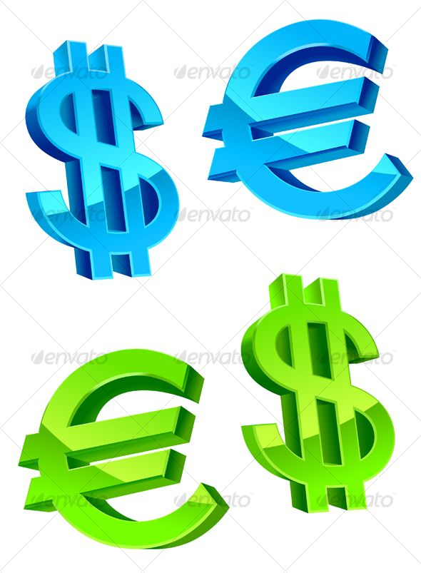 Glossy Currency Symbols Currency Symbol Vector Design And Vector