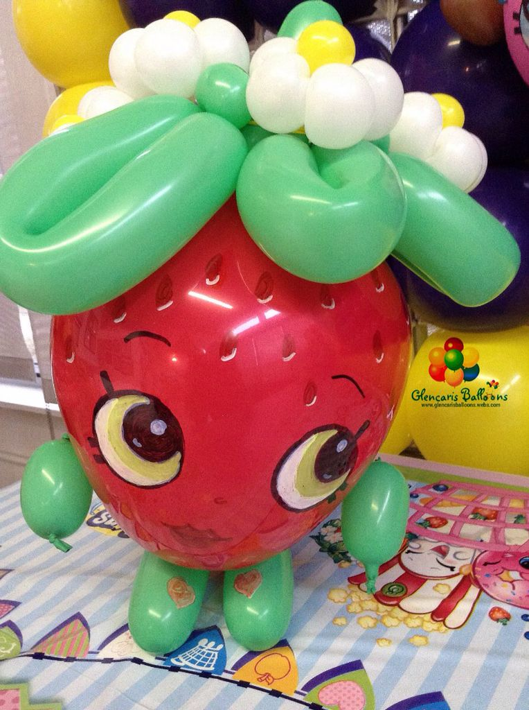 Shopkins decorations also glencaris balloons dallas balloonsdallas on pinterest rh