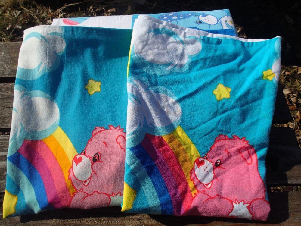 linge de lit catch Care Bears Rainbow Trail 2 Pillowcases Flat Sheet Catch Some Fun  linge de lit catch