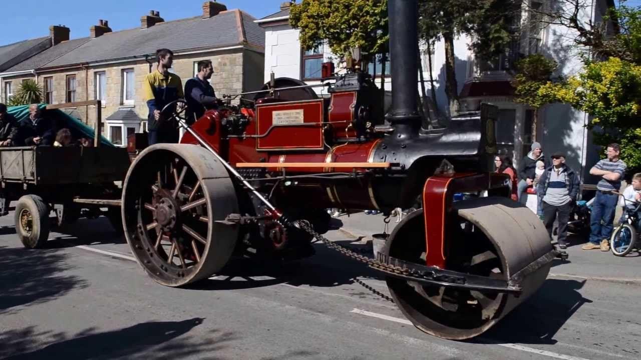 Steam Parade, Trevithick Day 2013, Camborne