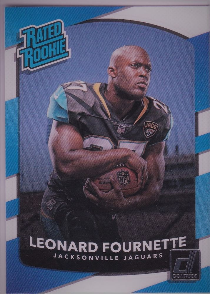 2017 Donruss Rated Rookie Leonard Fournette Jacksonville Jaguars Sports Card Jacksonvillejaguars With Images Jacksonville Jaguars Cards Jaguar Sport