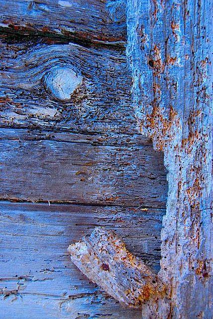 old blue...:
