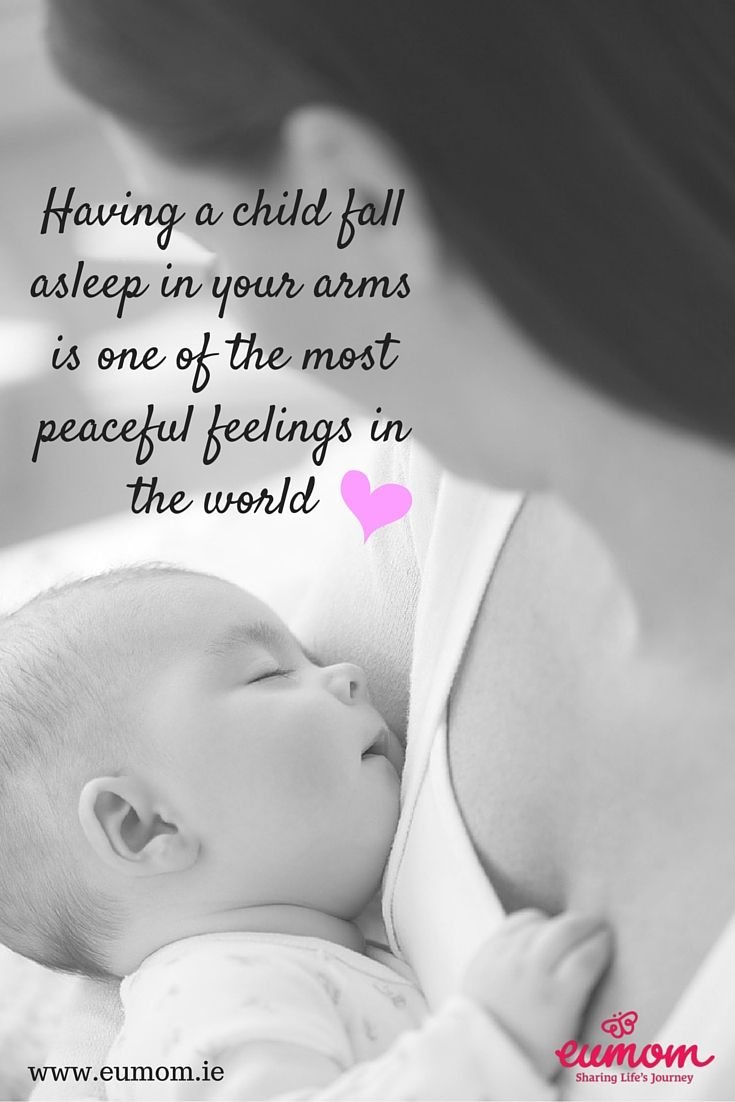 Having A Baby Fall Asleep In Your Arms Is One Of The Most Peaceful Feelings In The World Momquotes Baby Girl Quotes My Children Quotes Baby Love Quotes