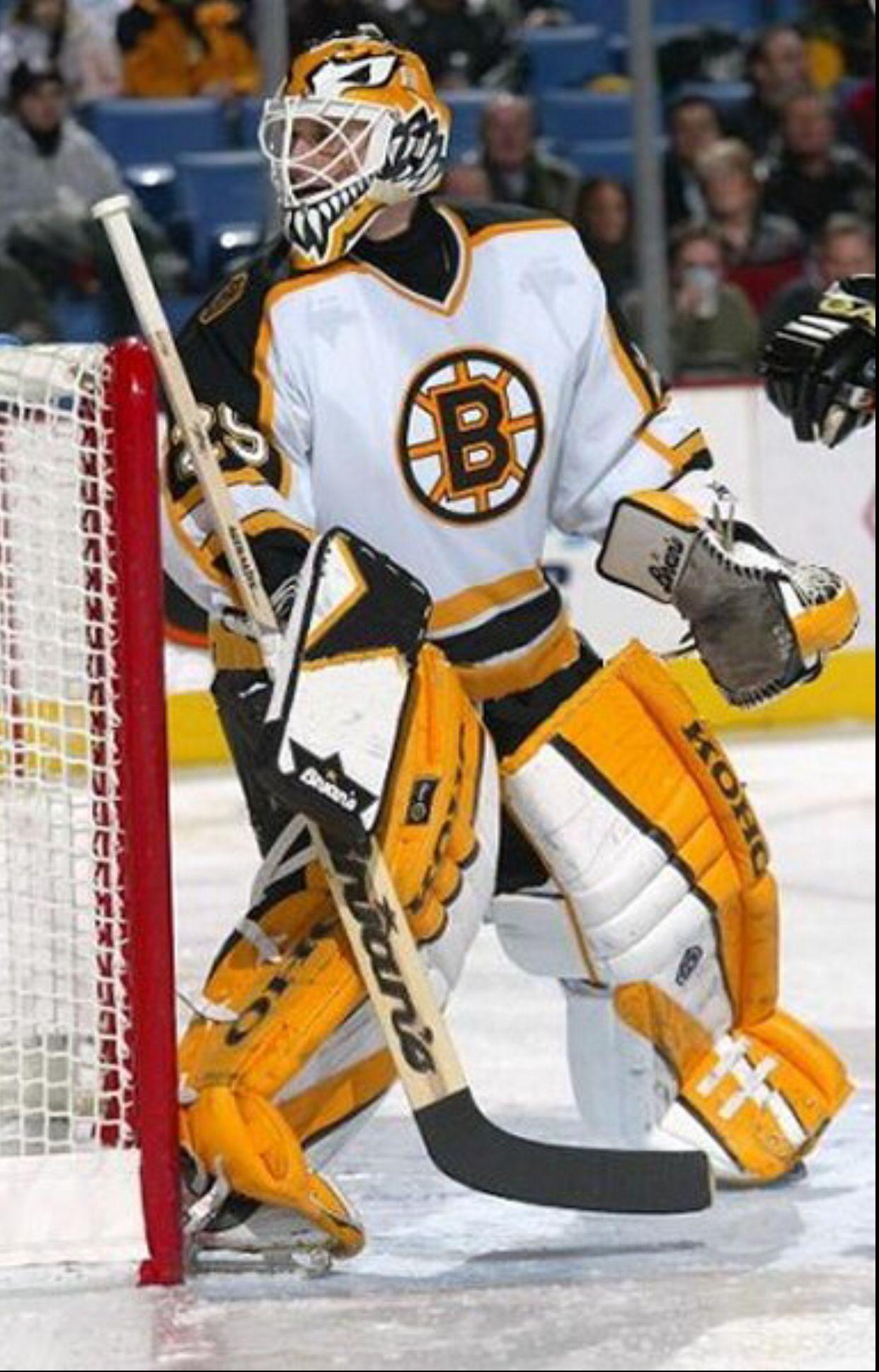 Felix Potvin (200304) Boston bruins, Boston bruins
