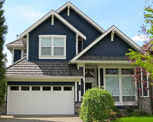 Best Hale Navy Painted Exterior House I Love This Navy Colour 640 x 480