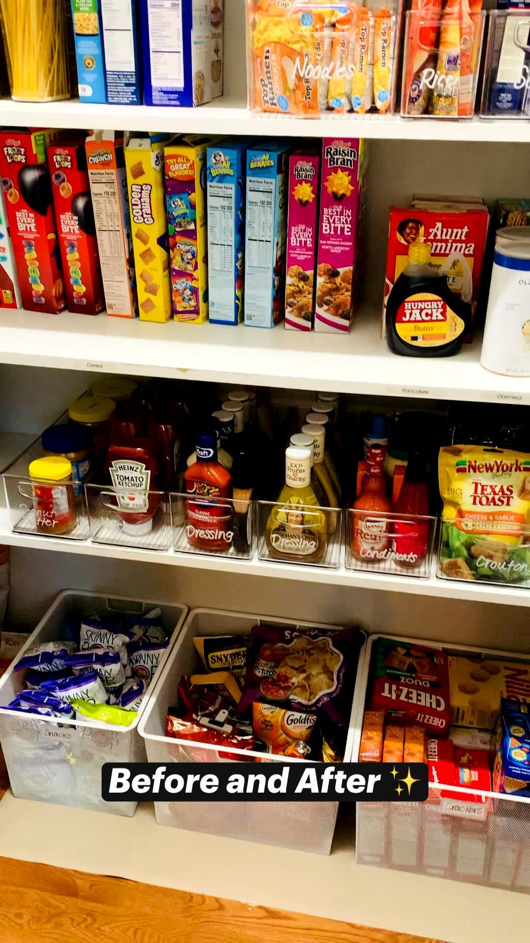 Organizing Your Pantry With Style