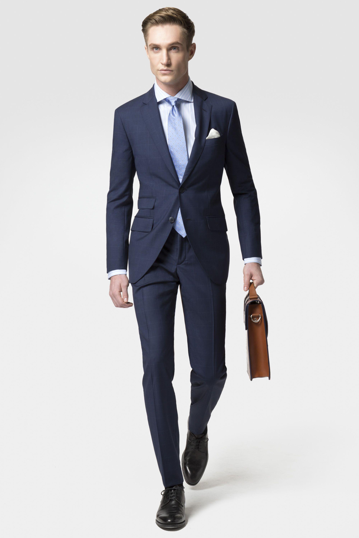 82110e83977f Suits NAVY CHECK Trajes Masculinos, Zapatos Para Traje, Trajes Azules,  Trajes De Hombre