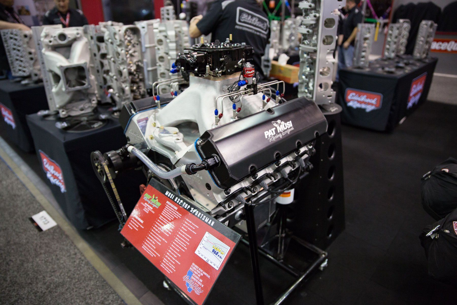The Musi 632 from Edelbrock is designed to bring reliable