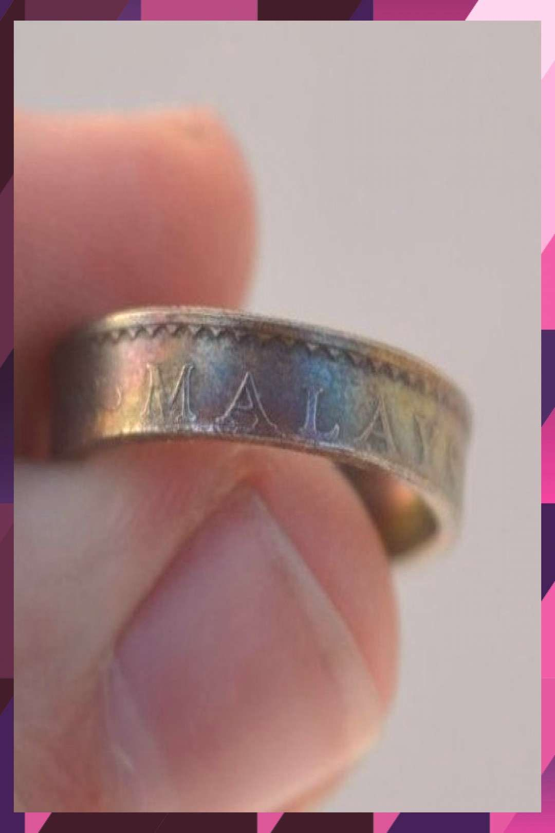 #handmade #malaysia #inches #sizeus #coin #ring #made #sen #716 #10 #of #if #a #9 #2 handmade ring made of a 10 Sen (Malaysia) coin size(US): 9 ;(inches): 2 7/16 (if...You can find Malaysia and mo...