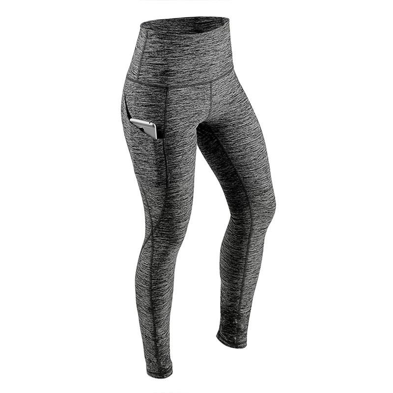 f9c5fdb172 Clothing Type: LeggingsWaist Type: HighFabric Type: KnittedMaterial:  Polyester,SpandexThickness: StandardLength: Ankle-LengthPattern Type: Solid