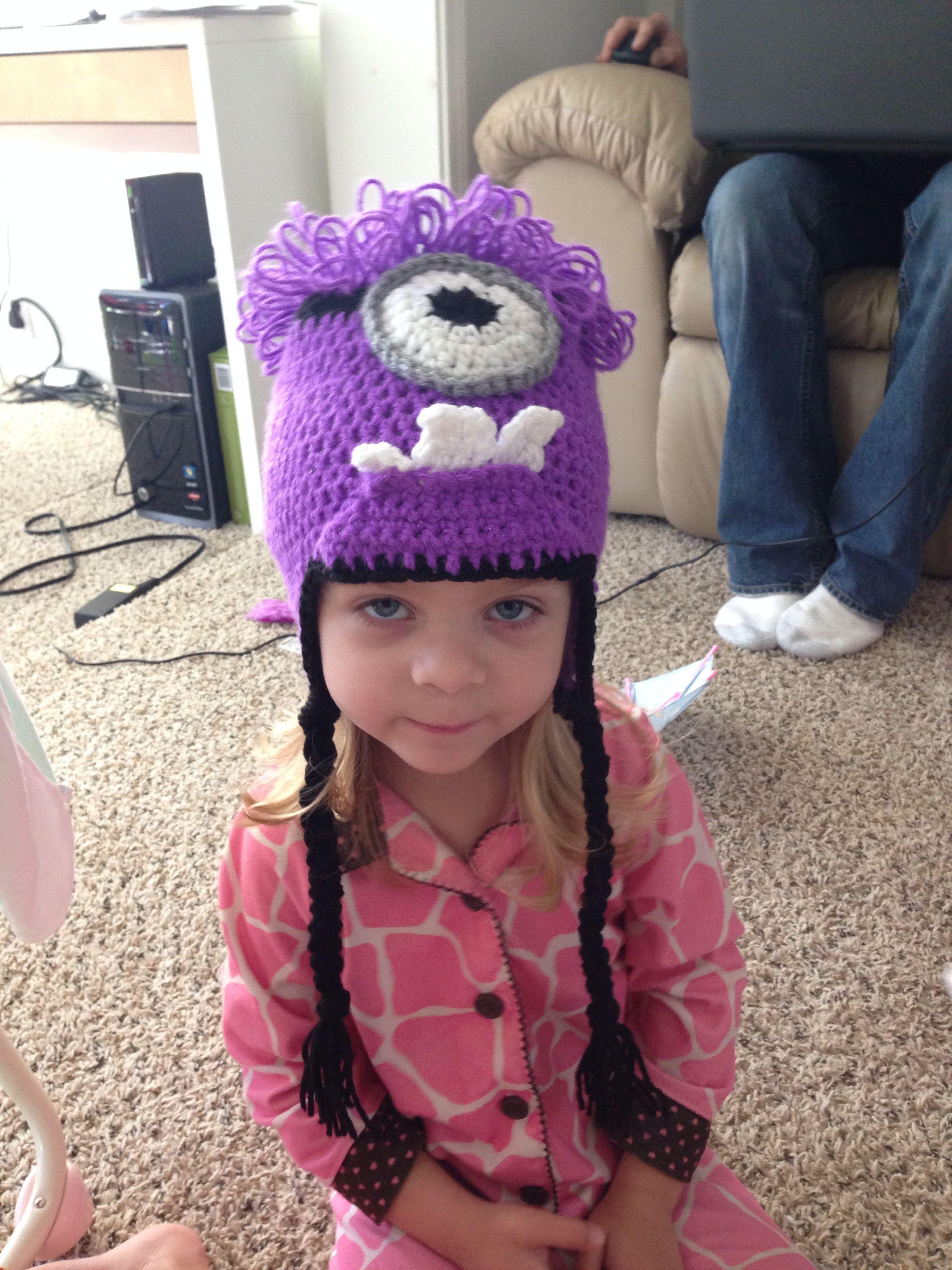 Purple minion crochet hat | gorros | Pinterest | Gorros y Guantes