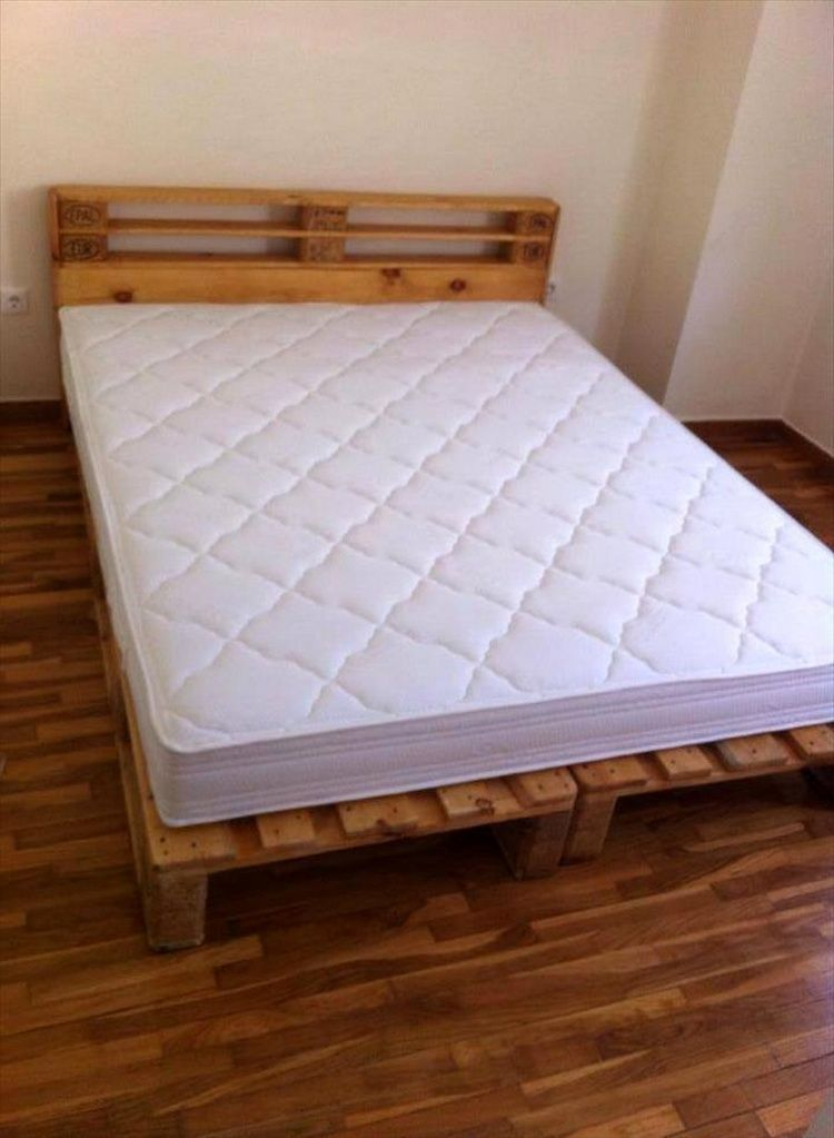 Ideas about Pallet Bed Frames | Camas y Comida