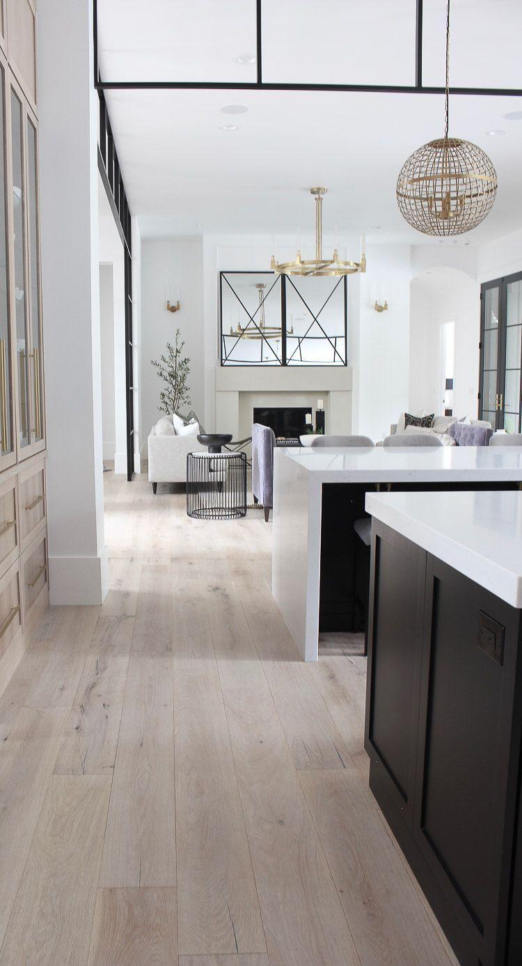 Contemporary Modern Kitchen Rift Sawn White Oak Cabinetry In 2020 Kitchen Interior Design Modern Kitchen Design Modern White Interior Design Kitchen