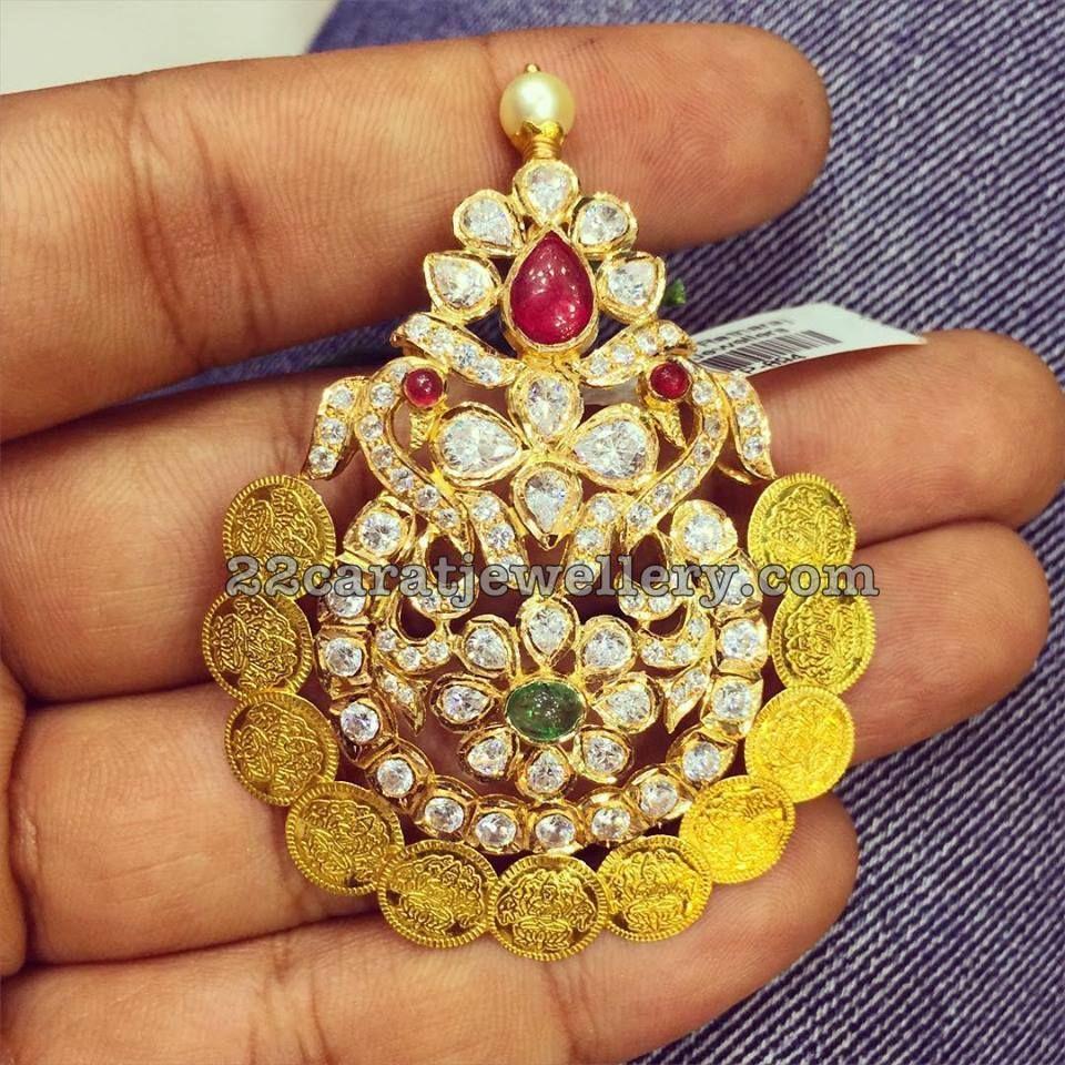 Top 9 Latest Designs By SRJ Fine Jewelry Indian jewelry Pendants