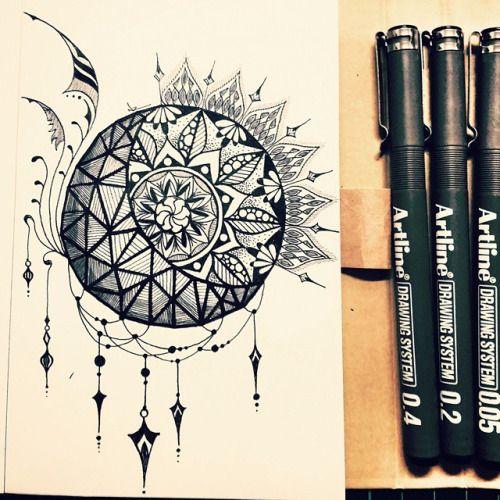 mandala sun moon tattoo cerca con google id e tatouage. Black Bedroom Furniture Sets. Home Design Ideas
