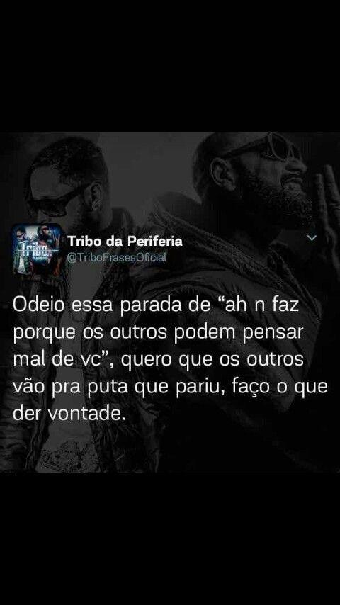 Pin De Luiz Em Status Com Imagens Frase Rap Frases Tribo Da