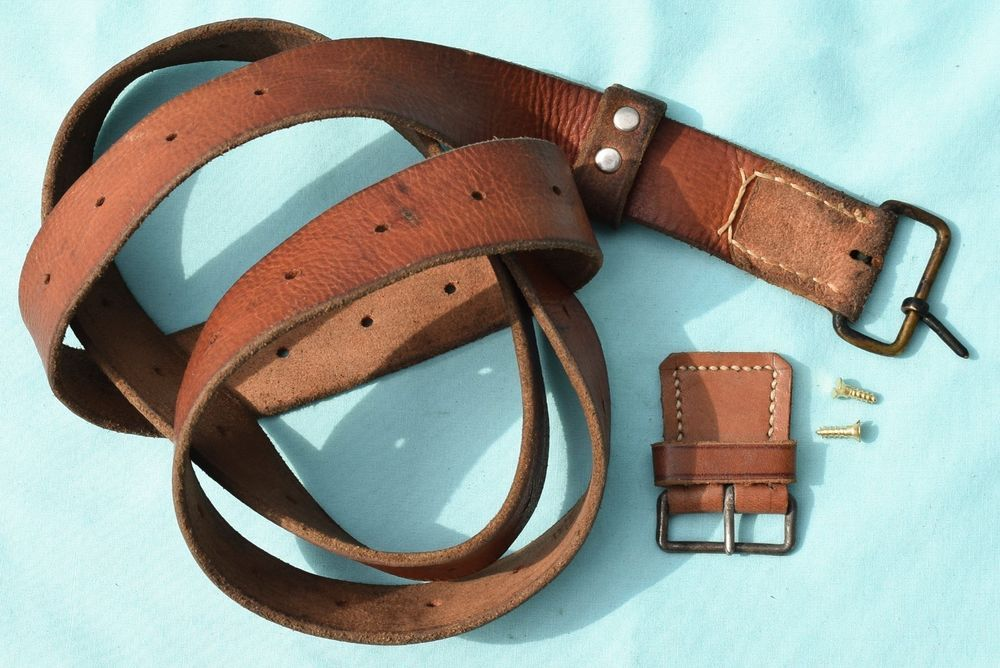 Details about Swedish Mauser Carbine M1894 M94 leather sling