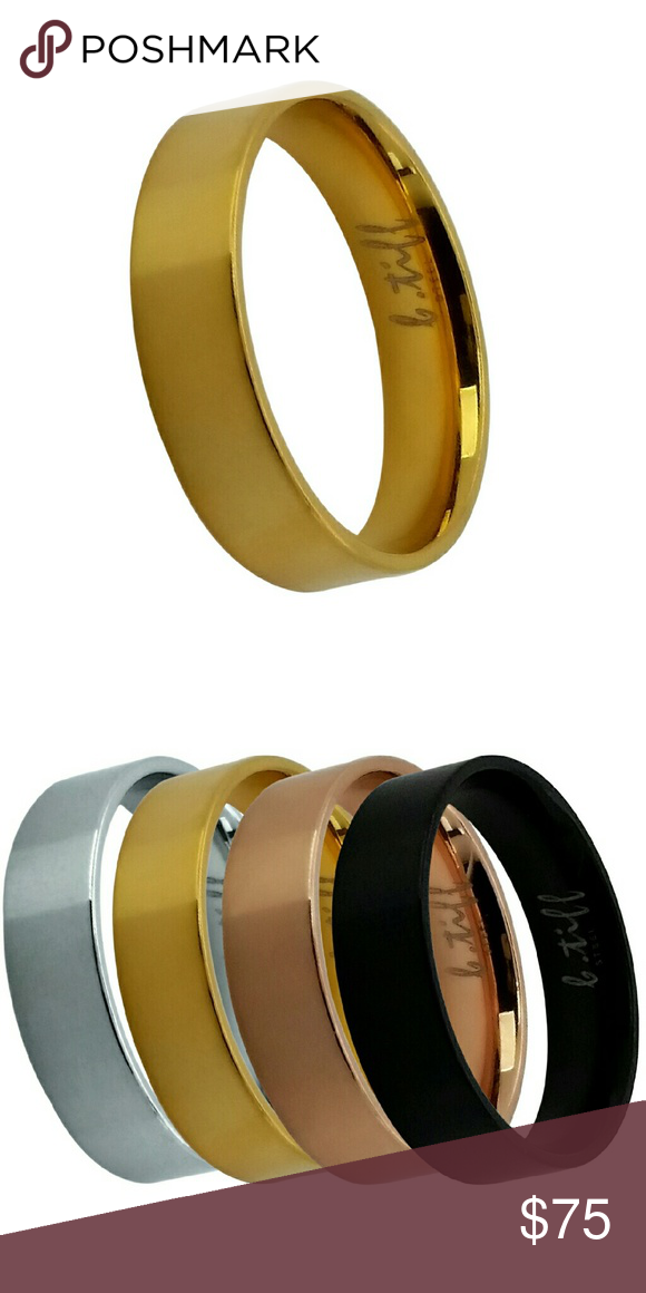 B Tiff New York Stainless Steel Ring Stainless Steel Rings Rings Jewelry Rings
