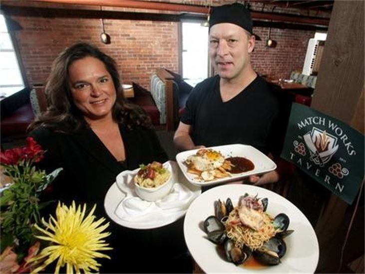 Match Works Tavern In Mentor Via Lake County Ohio Visitors Bureau The Owners