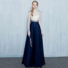 Setwell Elegante Sheer Neck Bodenlangen Abendgesellschaft Kleid mit Spitze sleeveless Formales Abschlussball-kleider Nach Maß //Price: $US $130.24 & FREE Shipping //     #cocktailkleider