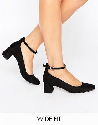 diseño atemporal 3d942 d04ff Zapatos de Tacon Bajo modernos | Zapatos | Tacones, Zapatos ...