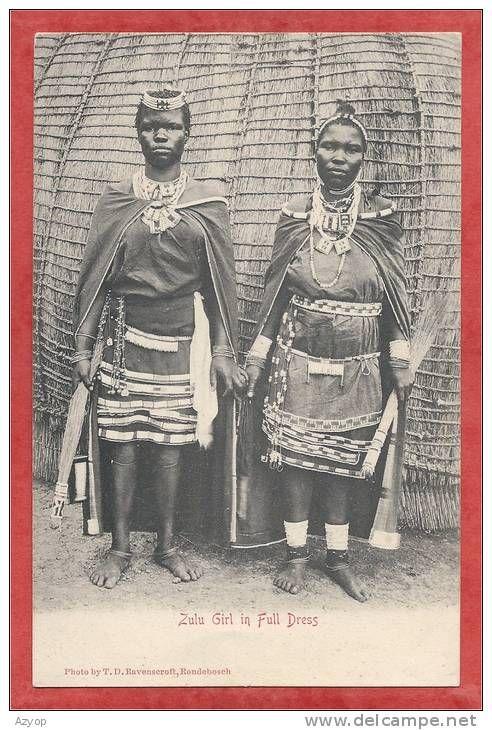 ZULU GIRLs in Full Dress
