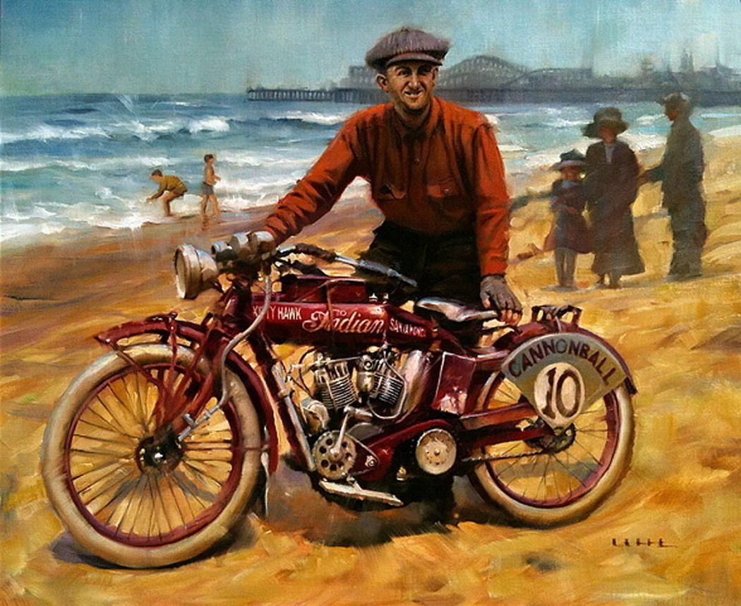 David Uhl (b.1961) — Bake (1050×858) | Motorcycle art ...