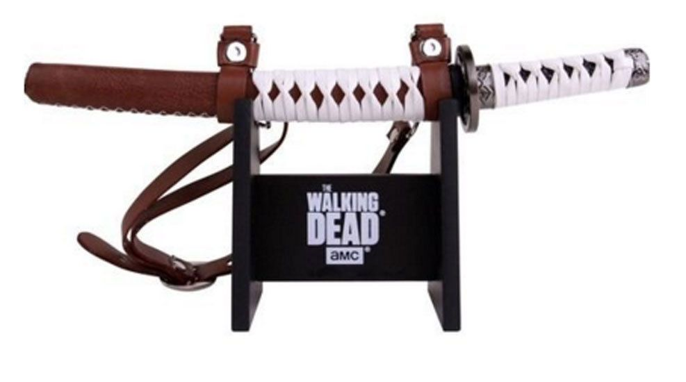 The Walking Dead michonne/'s sword  display shelf for your sword shelf only
