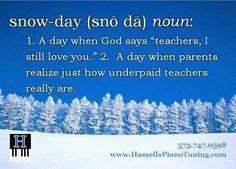Snow Day Teacher Memes Teacher Humor Snow Day