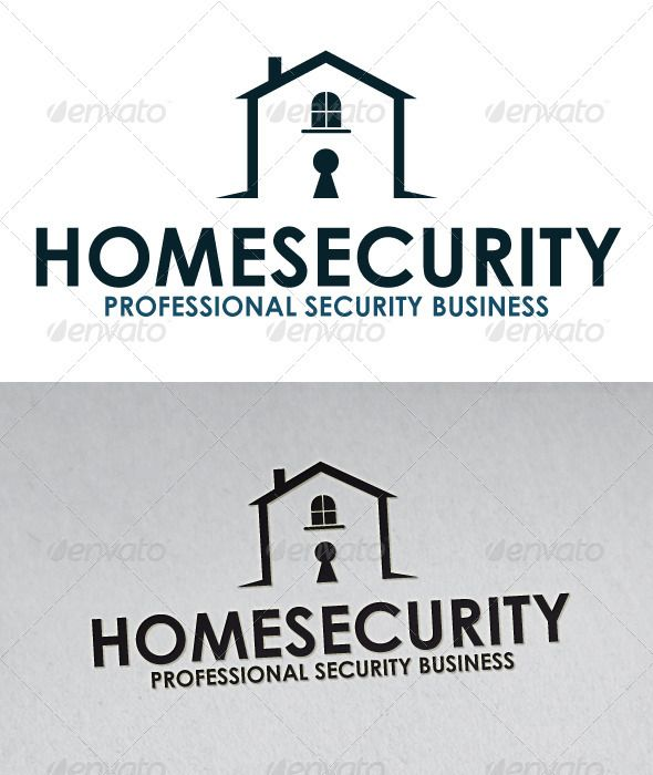 Home Security Logo Security logo Building logo and Logos
