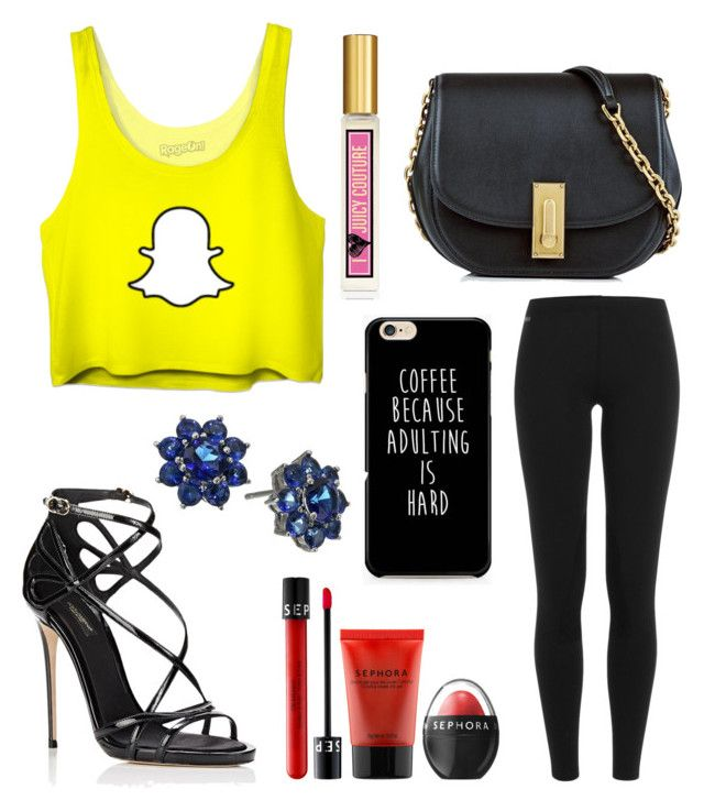 """""""Untitled #9180"""" by ohnadine on Polyvore featuring Polo Ralph Lauren, Marc Jacobs, Dolce&Gabbana, Sephora Collection, Nina and Juicy Couture"""