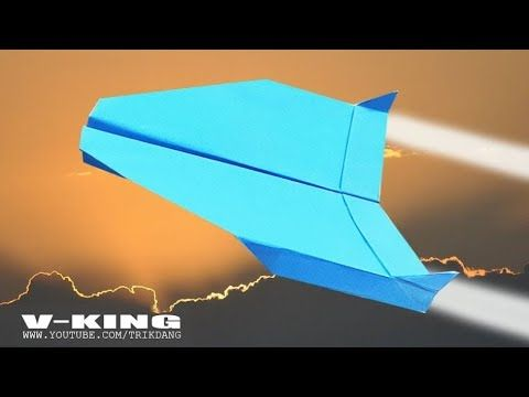 Photo of COOL PAPER AIRPLANE – How to make a Paper Airplane   V-King