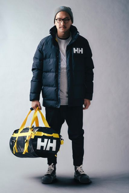 Helly Hansen Urban Reversible W winter jacket yellow blue