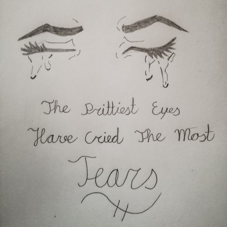 Sad Quotes About Depression Drawings: Made This With A Drawing And A Quote