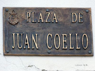 SAN FERNANDO. Ayer y hoy...y otras historias.: PLAZA DE JUAN COELLO (Callejón de acceso)