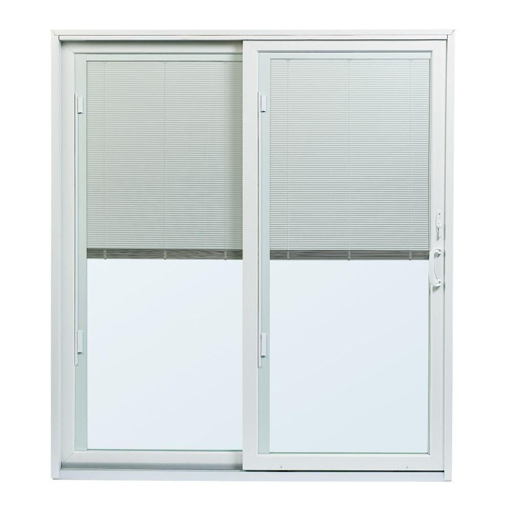 Jeld Wen 34 9 16 In X 76 1 8 In F 2500 Rh 1 Primed Fiberglass Right Hand Folding Full Lite Activ Sliding Patio Doors Patio Doors Andersen Sliding Patio Doors
