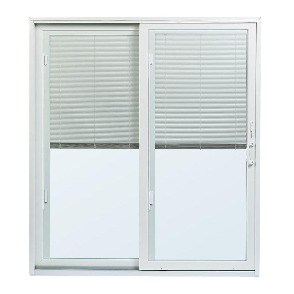 Jeld Wen 34 9 16 In X 76 1 8 In F 2500 Rh 1 Primed Fiberglass Right Hand Folding Full Lite Activ Sliding Patio Doors Patio Doors Andersen Sliding Patio Doors