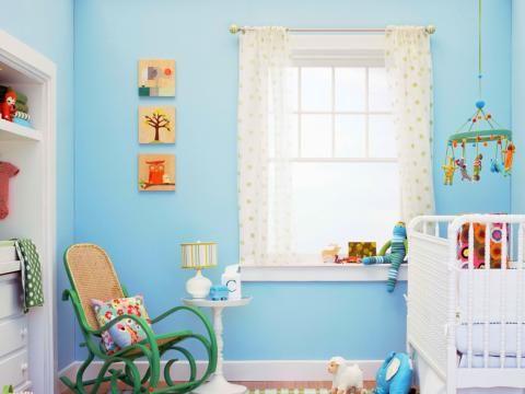 wandfarbe   kinderzimmer   pinterest - Wandfarbe Blau Kinderzimmer