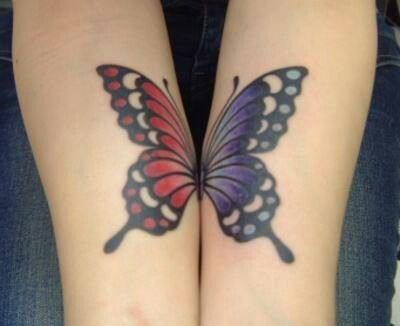 Photo of Schmetterling Tattoo