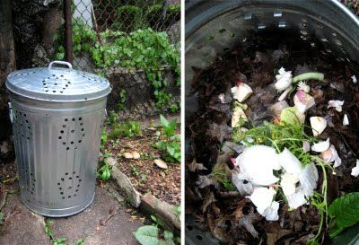 I Should Do This With The Old Metal Trash Can Out Back Ealing Functional