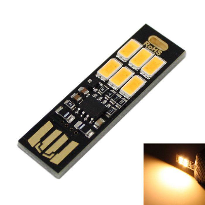 Price Rs 176 95 Ultrathin Usb 3w 5v 200lm 5630 Smd Led Warm White Mobile Power Usb Light Black Warm White Led Light