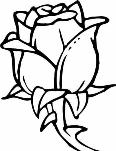 How To Draw A Rose Step By Step Easy Clipart Best Flower Coloring Pages Rose Coloring Pages Free Coloring Pages