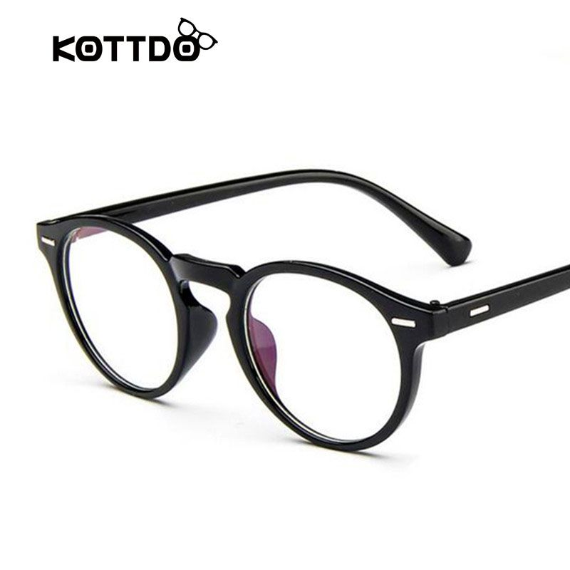 Retro Round Eyeglasses Frame Brand For Women Fashion Men Optical eye ...