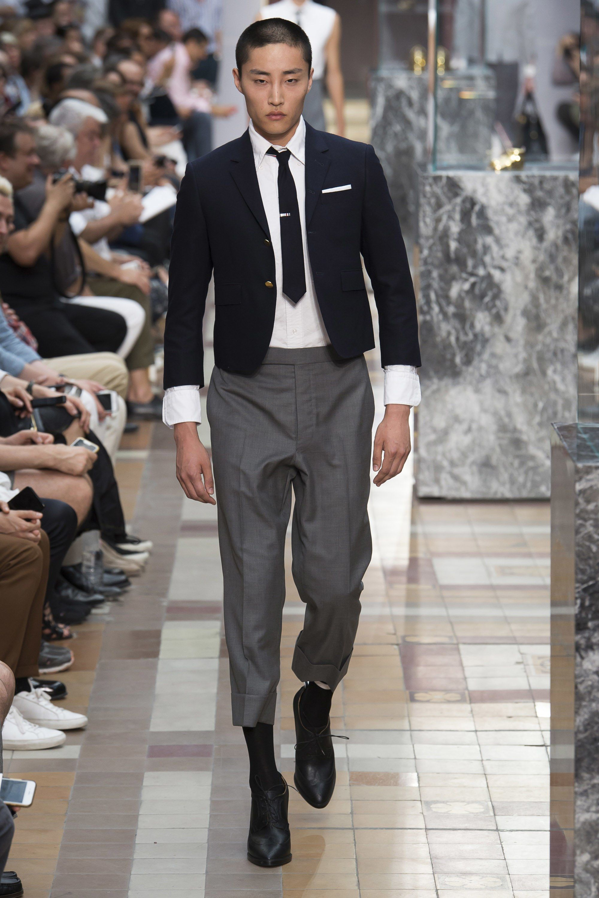 970d2210c763 Thom Browne Spring 2018 Menswear Collection Photos - Vogue