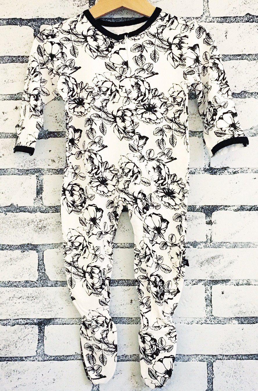 7021979cc Peregrine Kidswear Floral Footie