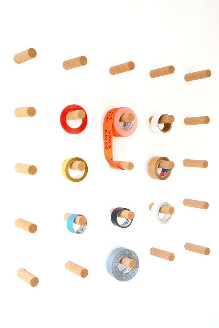 Design Hooks creative wooden wall hook design idea for minimalist interior