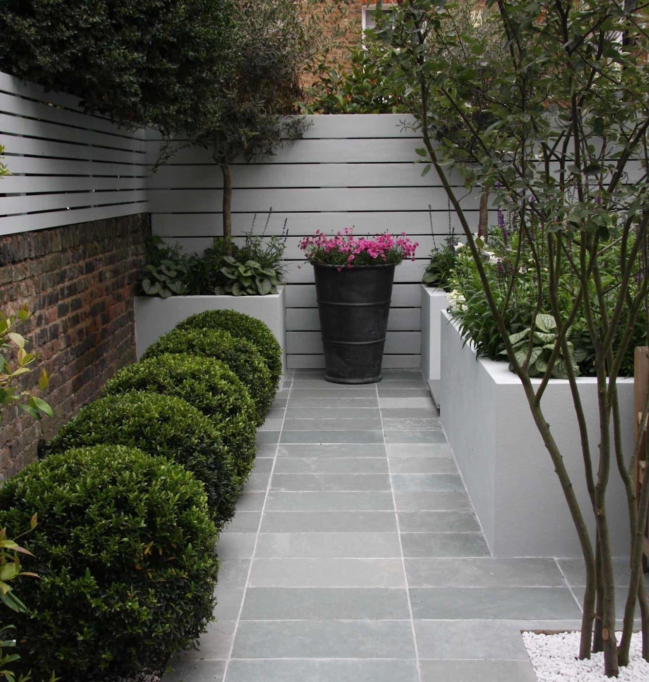 Small urban garden modern garden by ruth willmott modern ...