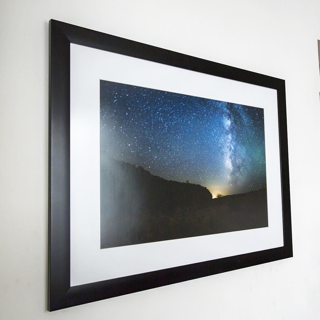 """Interesting one by rafadelalastrav #astrophotography #contratahotel (o) http://ift.tt/1oTWBn8 prints for sale!!! We deliver everywhere! This is a 24x18"""" size print of the nightsky in Sonora's desert metalic paper #print #frame #longexposure #longexpoelite #amazing_longexpo #nightphotography  #desert #sonora #metalic #photographic #paper #printisbetter #surreal #landscape #adventure #explore"""