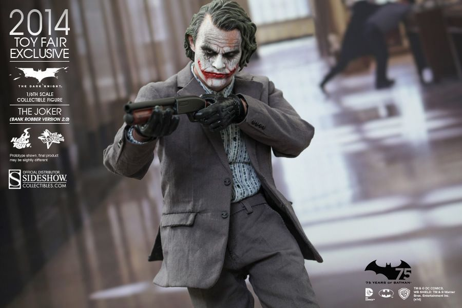 The Joker Bank Robber Version 2 0 Sixth Scale Figure From Hot