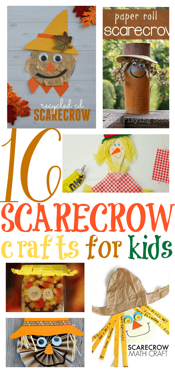 16 Fun Scarecrow Crafts for Kids - I Can Teach My Child!
